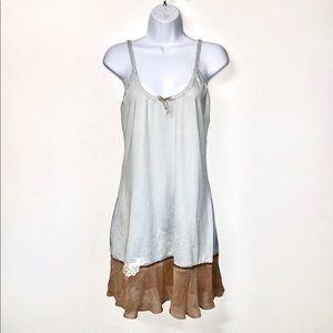 Cabernet delicate soft lace appliqué chemise